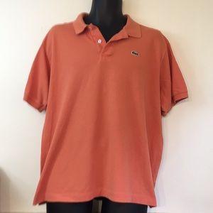 Men's Lacoste polo shirt XXL orange